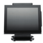 "Partner Tech WT-250 All-in-one 2GHz J1900 15"" 1024 x 768pixels Touchscreen Black POS terminal"
