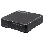 Manhattan 2-Port AC Powered 4K HDMI Splitter for Ultra High-Definition Displays, Black (207591)