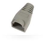 Microconnect Boots RJ45 Grey 25packZZZZZ], 33301-25