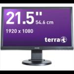"""Wortmann AG TERRA LED 2255W 21.5"""" Full HD TN Matt Black computer monitor"""