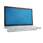 """DELL Inspiron 3459 2.3GHz i3-6100U 23.8"""" 1920 x 1080pixels Touch screen White"""