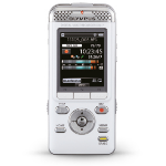 Olympus DM-7 Internal memory & flash card White dictaphone