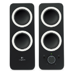 Logitech Z200 loudspeaker Black Wired