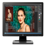 "HP ProDisplay P19A LED display 48.3 cm (19"") SXGA Black"