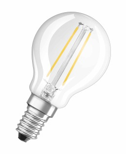 Osram LED Retrofit CL P 1.2W E14 A++ Warm white LED bulb