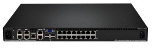 Lenovo 1754D1X KVM switch Rack mounting Black