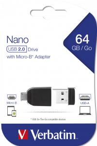 Verbatim 49329 USB flash drive 64 GB 2.0 Black