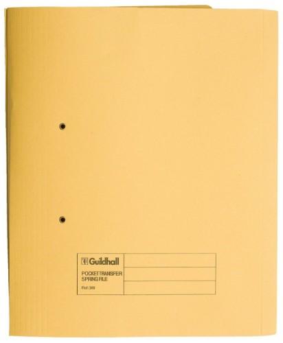 Guildhall 349-YLWZ folder 350 mm x 242 mm Yellow