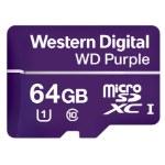 Western Digital Purple flashgeheugen 64 GB MicroSDXC Klasse 10