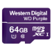 Western Digital Purple memoria flash 64 GB MicroSDXC Clase 10
