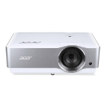 Acer VL7860 beamer/projector 3000 ANSI lumens DLP 2160p (3840x2160) Ceiling-mounted projector Zilver, Wit