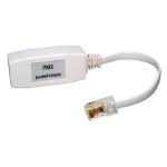 Cables Direct BT-300 cable interface/gender adapter RJ45 White