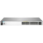 Hewlett Packard Enterprise Aruba 2530 24G PoE+ Managed L2 Gigabit Ethernet (10/100/1000) Power over Ethernet (PoE) Rack (1U) Grey