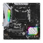 Asrock B450M Steel Legend AMD Socket AM4 Micro ATX HDMI/DIsplayPort DDR4 M.2 USB C 3.1 Motherboard