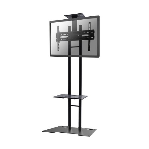 "Newstar Monitor/TV Floor Stand for 32-55"" screen, Height Adjustable - Black"
