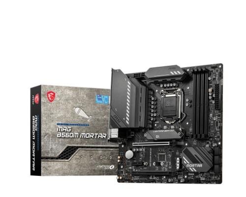 MSI MAG B560M MORTAR motherboard Intel B560 LGA 1200 micro ATX