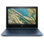 "HP Chromebook x360 11 G3 EE LPDDR4-SDRAM 29,5 cm (11.6"") 1366 x 768 Pixels Touchscreen Intel® Celeron® N 8 GB 64 GB eMMC Wi-Fi 5 (802.11ac) Chrome OS Blauw"