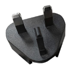 Honeywell PS-PLUG-UK Type G (UK) Black power plug adapter