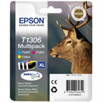 Epson C13T13064012 (T1306) Ink cartridge multi pack, 3x10.1ml, Pack qty 3