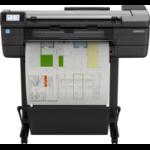 HP Designjet T830 24 Grossformatdrucker Wi-Fi Tintenstrahl Farbe 2400 x 1200 DPI Eingebauter Ethernet-Anschluss