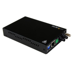 StarTech.com 10/100 Mbps Multi Mode Fiber Media Converter ST 2 km