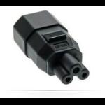Microconnect PEA0408 cable gender changer C14 C5 Black