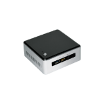 Intel NUC BOXNUC5I3RYHS PC/workstation barebone i3-5005U 2 GHz UCFF Black,Grey BGA 1168