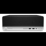 HP ProDesk 400 G4 3.6GHz i7-7700 SFF Black,Silver PC