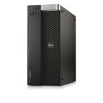 DELL Precision T5810 3.7GHz E5-1630V3 Tower Black Workstation