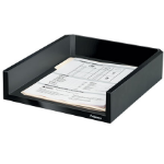 Fellowes Designer Suites Plastic Black desk tray