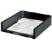 Fellowes Designer Suites Plastic Black desk tray