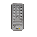 Axis 5800-931 remote control Special Press buttons