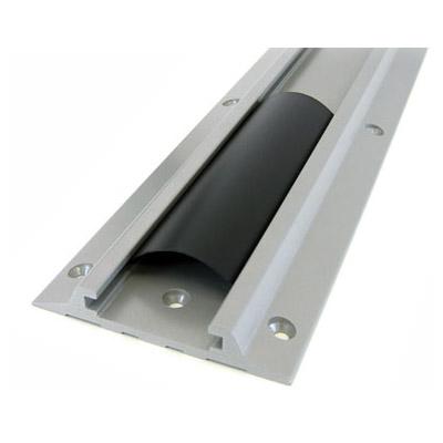 "Ergotron 26"" Wall Track sistema de ducto para canal Aluminio"