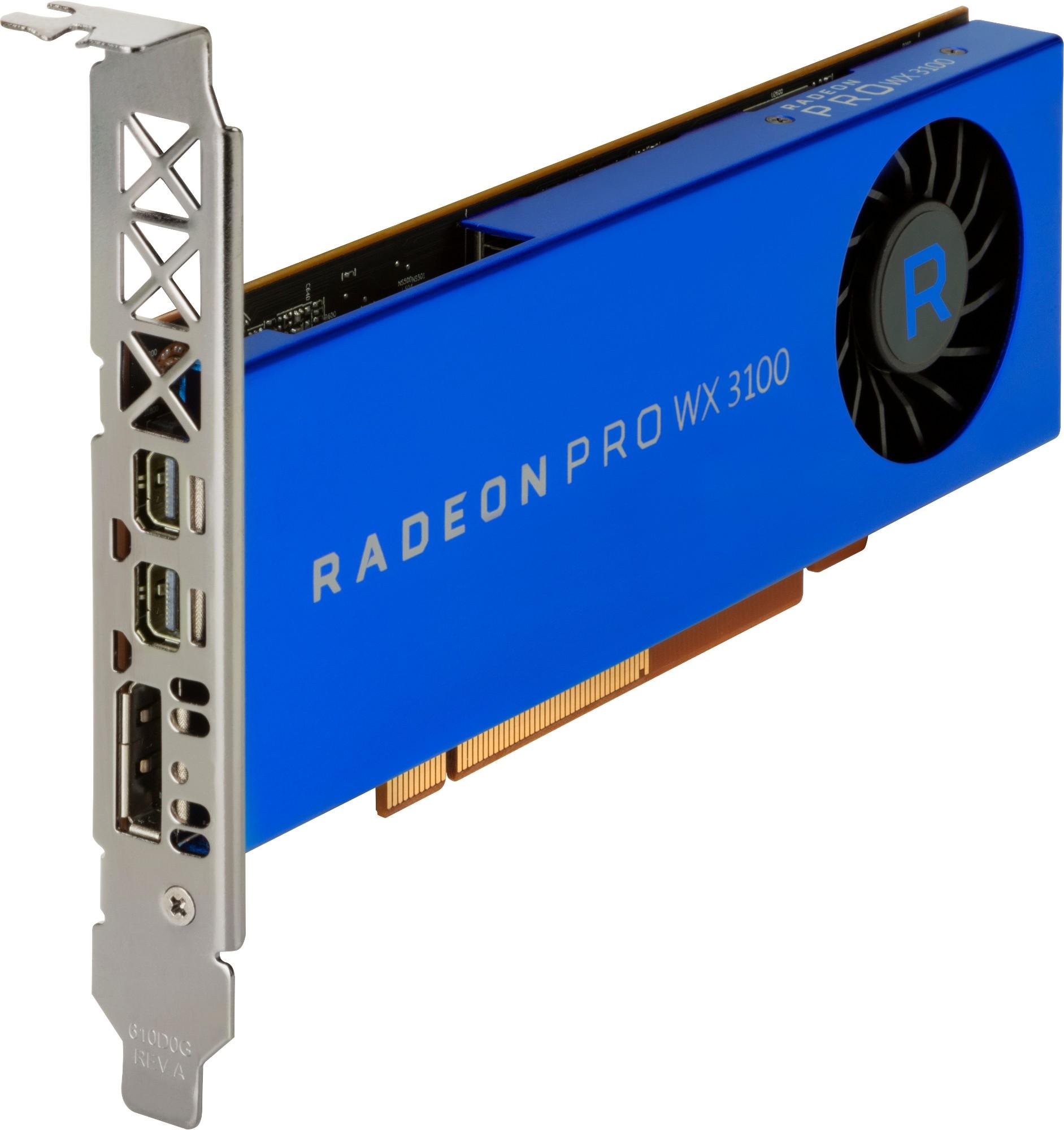 HP 2TF08AA graphics card AMD Radeon Pro WX 3100 4 GB GDDR5