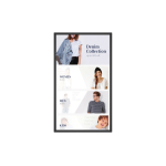 "Benq IL490 124,5 cm (49"") LED Full HD Touchscreen Digitale signage flatscreen Zwart"