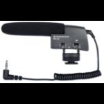 Sennheiser MKE 400 Micrófono para videocámara Negro