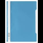 Durable 2573-07 Polypropylene (PP) Blue, Transparent A4