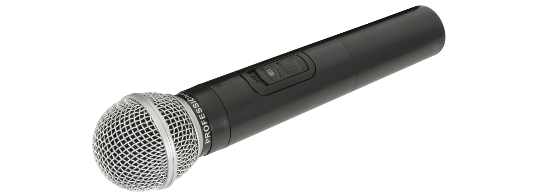 Qtx 178.893UK microphone Karaoke microphone Wireless Black