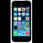 "Apple iPhone 5S 10.2 cm (4"") 16 GB Single SIM 4G Grey iOS 7"