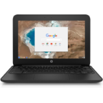 "HP Chromebook 11 G5 EE 1.6GHz N3060 11.6"" 1366 x 768pixels Touchscreen Black, Grey Chromebook"