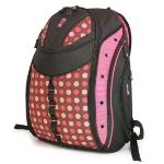"Mobile Edge Express Backpack - Polka Dot 15.4"" Notebook backpack Pink"