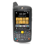 "Zebra MC65 3.5"" Touchscreen 359g Black handheld mobile computer"