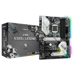 Asrock Z390 Steel Legend motherboard LGA 1151 (Socket H4) ATX Intel Z390