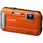 "Panasonic Lumix DMC-FT30 Compact camera 16.1 MP CCD 4608 x 3456 pixels 1/2.33"" Orange"