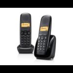 Gigaset A150 Duo DECT-telefoon Nummerherkenning Zwart