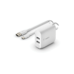 Belkin WCE001DQ1MWH mobile device charger Indoor White