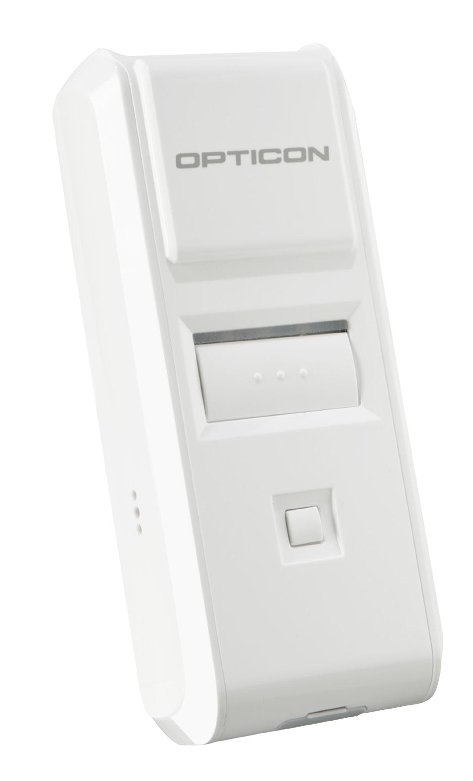 Opticon OPN-4000i Lector de códigos de barras portátil 1D CCD Blanco