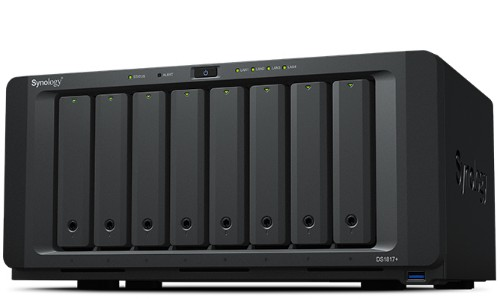 Synology DS1817PL2G96TBSE DS1817+ 2GB RAM 96TB Seagate IronWolf NAS Server