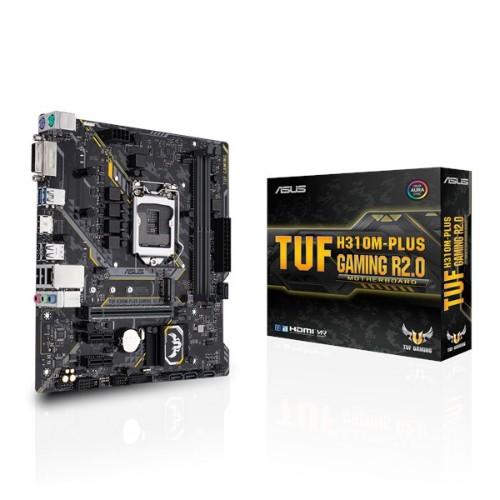 ASUS TUF H310M-PLUS Gaming R2.0 motherboard LGA 1151 (Socket H4) Micro ATX Intel® H310