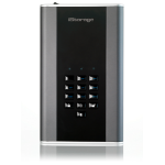 iStorage diskAshur DT2 256-bit 4TB USB 3.1 FIPS Level 3 certified, secure encrypted desktop hard drive IS-DT2-256-4000-C-X